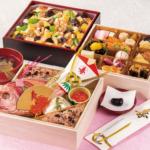 正直屋のお食い初め二段重とちらし寿司のセット