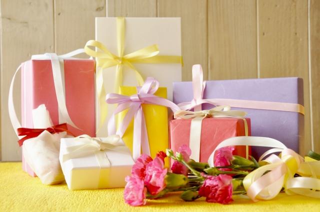 色々なプレゼントの画像