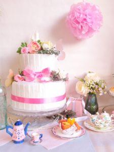おむつケーキの写真
