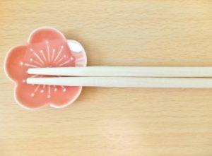 桜の箸置き写真